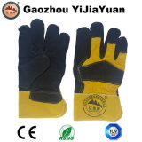 Full Palm Cow Split Leather Work Gloves
