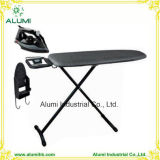 Hotel Silver Ironing Table with Steam Iron and Iron Holder