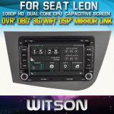 Witson Windows for Seat Leon Head Unit Car DVD
