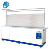 Movable Venetian Window Blind Ultrasonic Cleaners with Water Rinsing Tank