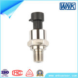 Mini Stainless Steel Low Cost Pressure Transmitter/Sensor with 4-20mA/1-5V Output