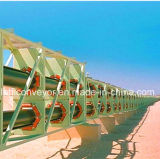 High Quality Pipe Belt Conveyors for Material Handling