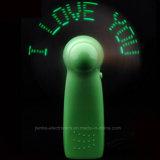 Green LED Message Blinking Toy Fan (3509)