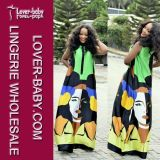 Fashion Maxi Dress Woman Summer Wear (L51267-1)