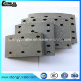 Cheap Tank Semi Trailer Parts for Brake Shoe and Brake Lining