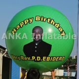 Photo Printed Inflatable Balloon for Birthday Party Decoration