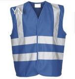 Roadwork Safety Vests Reflective Blue Mesh Clothing Stock Customize Logo
