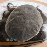 Full French Lace Cheap Stock Mens Hair Piece