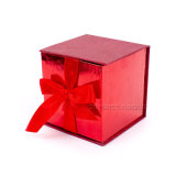 Customized Red Luxury Gift Paper Box Packaging Box for Glass Cup
