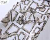 Rectangular Pattern of Sofa Fabric Jacquard Without Chenille