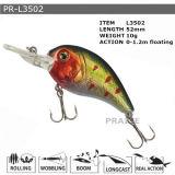 Pr-L3502 Customized Floating Hard Minnow Plastic Fishing Lure