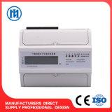 LCD Digital Display DIN Rail Three Phase Static Energy Meter Electronic Kwh Meter Smart Electric Power Meter Watt-Hour 12V