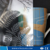 3-6mm Clear Leaf Patterned Glass with CE&ISO9001