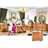 Bedroom Furniture Set with Antique Bed (W807)