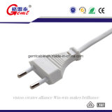 Europe Type Power Extension Cord 2 Pin H03VV-F Power Cord Cable EU Power Cord