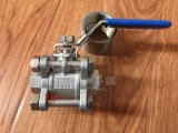 Stainless Steel Manual Screw/Thread End 3PC Ball Valve