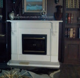 Fp022 Carrara White Marble Fireplace Stone Fireplace Mantel Fire Place