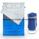 Double Sleeping Bag for Backpacking, Camping, or Hiking