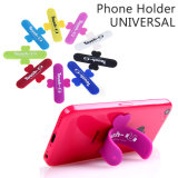 U-Shaped Ring Phone Holder Universal Portable Back Sticker for All Smartphones Tablet Black/Blue/White