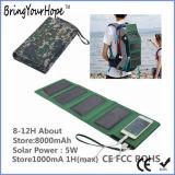 Power Solar Power Bank 5W Folding Solar Storage Power (XH-PB-250)