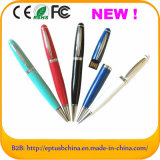 Color Pen USB Flash Drive Sub Pen Drive USB Memory Stick Disk in Pen Shape (EP035)