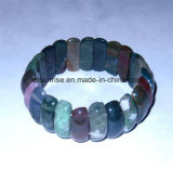 Fashion Crystal Agate Beaded Bracelet Jewelry