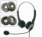 High Quality Wired Computer Stereo Headset Ear Cushions