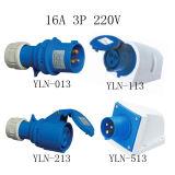 16A IP54 220-250V 2p+E Cee Industrial Plug and Socket