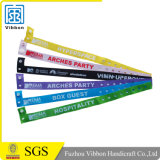 Custom Polyester Woven Fabric Wristbands for Sport & Music 2017