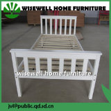 White Color Home Furniture Single Bed for Adult