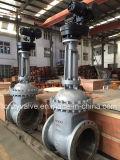 API/GOST/DIN Dn600 Pn25 Electric Motor Cast Steel Gate Valve