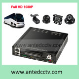 Anti Vibration HDD SSD Mobile DVR with 3G 4G GPS WiFi for Transit Bus Surveillance