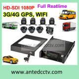 Rugged High Definition 1080P Digital Video Recorder for Vehicle Bus Car Truck