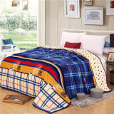Hot Sale Super Soft Printed Flannel Blanket Coral Fleece Blanket (SR-B170318-3)