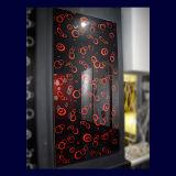 Modern Flower Design Kitchen Door UV Board