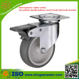 Light Duty Brake Rubber Castor