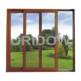 UPVC Patio Door with Woodgrain Color (OR-PD001)