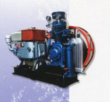 Professinal Disel Motor Drive Two Stage Marine Air Compressor