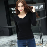 Ladies Cotton Your Favorite Long Sleeve Plain T Shirt
