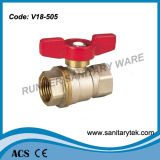 Brass Ball Valve for Water Usage (V18-505)