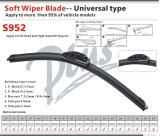 Auto Accessory Wiper Blade with Soft Adaptor