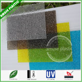 UV Coated High Quality PC Crystal Embossed Panels Polycarbonate Sheet