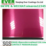 Decorative Bright Glitter Pink Color Powder Coating Paint for Automobile/Bike/Bicykle/Motorcycle