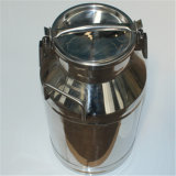 50 Liter Stainless Steel Bucket with Lid, Metal Milk Cans