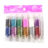 Nail Glitter Powder Dust 3D Nail Art Decoration Nail Art Bottle