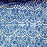 Polyester Lace Girl Dress Fabric (M1021)