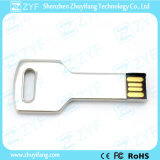 Stainless Steel Key USB Flash Drive with Full Capacity (ZYF1105)