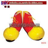Clown Shoe Covers Fancy Dress Fun Circus Costume Accessory (BO-6018)