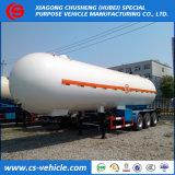 Nigeria Triaxle 20t LPG Transport Trailer 50000liters LPG Tanker Trailer