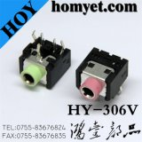 3.5mm Phone Jack with DIP Type (HY-306V)
